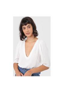 Blusa Colcci Lisa Off-White