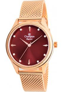 Relógio Champion Feminino Elegance Cn24379I
