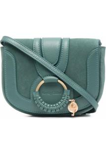 See By Chloé Ring-Embellished Cross-Body Bag - Verde