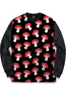Blusa Bsc Mushroom Full Print - Masculino