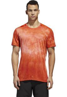 Camiseta Tko Tee - Laranja & Branca - Adidasadidas