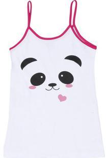 4fbf36e16 Ir para a loja  -62% Camisola Panda- Branca   Pink- Zulaizulai