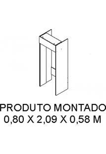 Módulo Para Geladeira Com Basculante 80Cm Gourmet G1 Itatiaia Branco Cetim