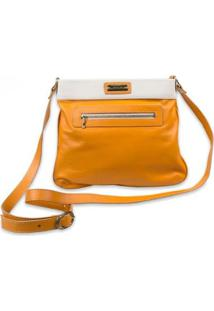 Bolsa Feminina Transversal 8057 - Feminino-Amarelo