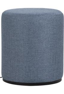 Puff Redondo DãNamo - Azul 1083