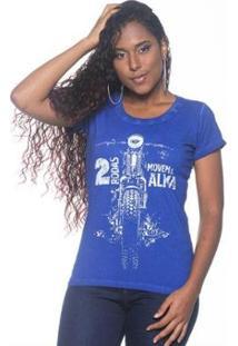 Camiseta Moto Lovers Duas Rodas Feminina - Feminino