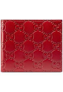 Gucci Carteira Gucci Signature - Vermelho