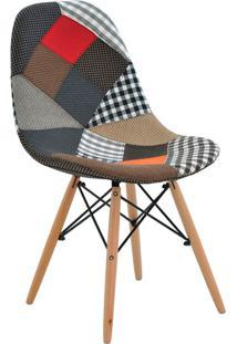 Cadeira Sem Braço Eiffel-Rivatti - Patch Work