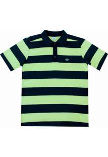 Camisa Pau A Pique Polo - Masculino-Verde Limão