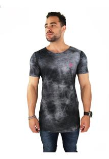 Camiseta Wolke Oversized Sublimada Smoke Sky