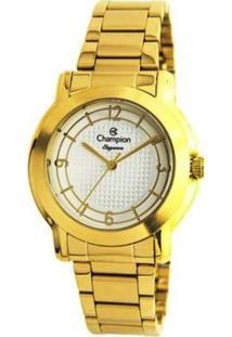 Relógio Champion Analógico Cn24128H Feminino - Feminino-Dourado