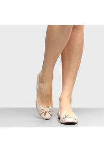 Sapatilha Shoestock Bico Redondo Medalha Feminina - Feminino