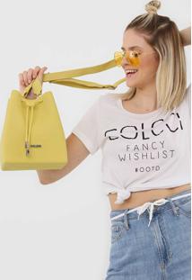 Bolsa Colcci Chicago Amarela