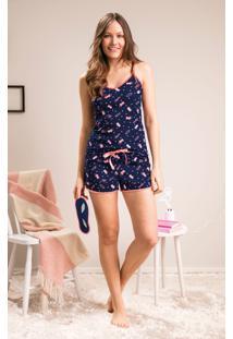 Pijama Com Máscara Malwee Liberta