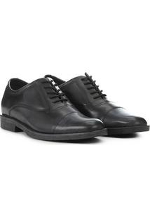 Sapato Social West Coast Noruega Basic Masculino - Masculino-Preto+Branco