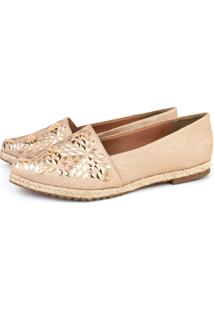 Alpargata Trivalle Shoes Nude Metais