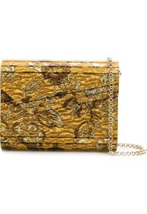 Jimmy Choo Clutch Candy - Dourado