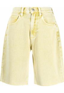Ground Zero Bermuda Jeans - Amarelo