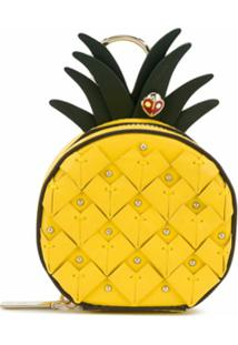 Kate Spade Porta-Moedas Picnic Pineapple - Amarelo