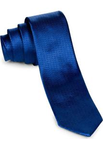 Gravata Pierre Cardin Tradicional Índigo Walk Azul
