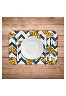 Jogo Americano Wevans Pizza Geometric Kit Com 2 Pçs