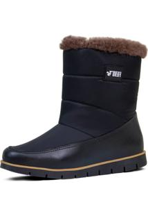Bota Feminina Cozy Snug Boot Forrada Em Lã Natural De Carneiro Ref.:21510