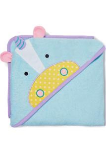 Toalha De Banho Unicornio Skip Hop Azul