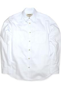 Camisa Linoleum Masculina Libertad Branca