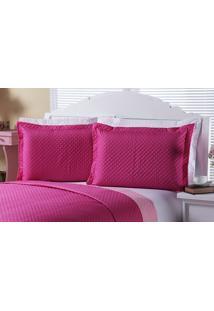 Porta Travesseiro Clean 02 Peças - Pink Enxovais Aquarela