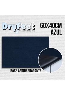 Tapete Dryfeet Azul 60X40Cm