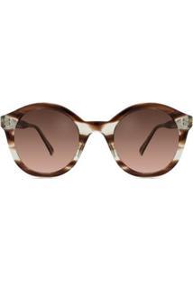 Óculos Solar Bond Street Tate Feminino - Feminino-Marrom