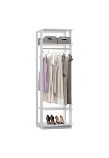 Closet 1008C Branco - Be Mobiliario