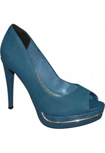 c47bad1d76 Chinelo Broche Metálico Sapato Show 01801172 - Feminino-Azul Turquesa. R   49