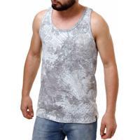 Camiseta Regata Masculina Fido Dido Cinza 9f25aff3733