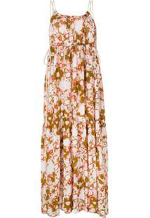 Lee Mathews Slip Dress Nula - Estampado