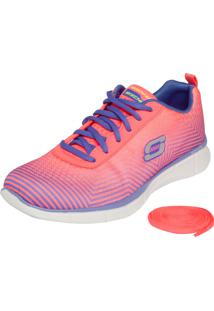 Tênis Skechers Equalizer Expect Miracles Rosa/Roxo