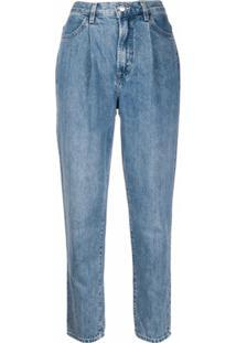J Brand Calça Jeans Cenoura Cintura Alta - Azul