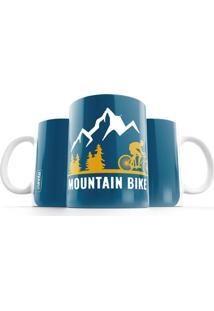 Caneca Punnto Mountain Bike - Azul - Dafiti