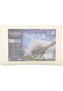 Travesseiro Duoflex Nasa Ns1114 Bege