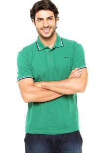 Camisa Polo Sommer Viés Verde