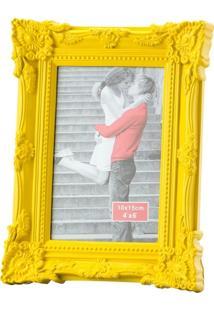 Porta-Retrato Amarelo 13X18 Retrô 3052 Lyor Classic