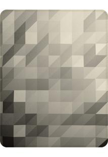 Tapete Love Decor Sala Wevans Polygon Clean Cinza ÚNico - Cinza - Dafiti