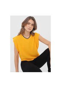 Blusa Forum Frisos Amarela