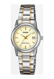 Relógio Feminino Casio Ltpv002Sg9Audf
