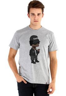 Camiseta Ouroboros Eazy-E X Simpsons Cinza