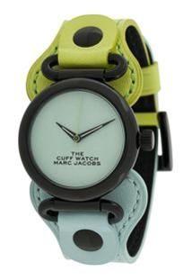 Marc Jacobs Watches Relógio Color Block - Azul