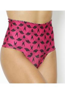 Calcinha Hot Pant Dupla Face Com Cã³S Dobrã¡Vel- Pink & Pruv Line