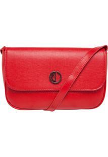 Bolsa Dumond Pequena Soft Vermelho