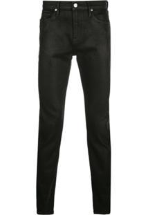 Frame L' Homme Skinny Jeans - Preto