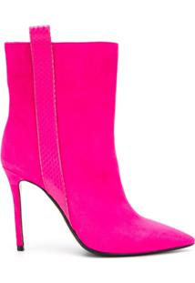 The Seller Ankle Boot Bico Fino - Rosa